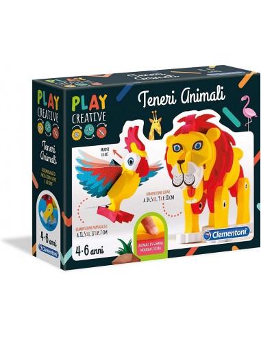 CLEMENTONI PLAY CREATIVE GLI ANIMALI...