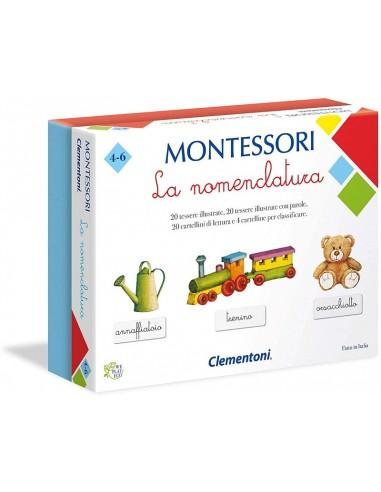 CLEMENTONI MONTESSORI LA NOMENCLATURA