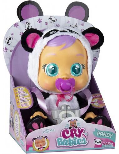 IMC BAMBOLA CRY BABIES BEBE' PANDA PANDY
