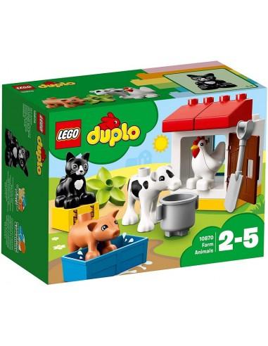 LEGO DUPLO ANIMALI DELLA FATTORIA