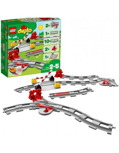 LEGO DUPLO BINARI FERROVIARI