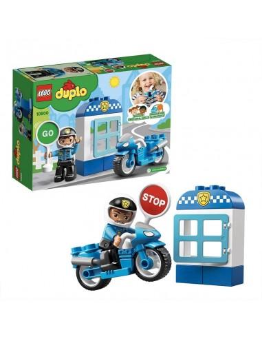 LEGO DUPLO MOTO DELLA POLIZIA