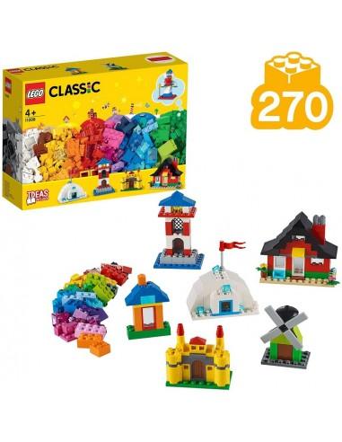 LEGO CLASSIC MATTONCINI E CASE