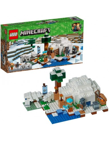 LEGO MINECRAFT L' IGLOO POLARE