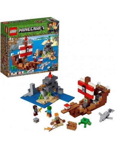 LEGO MINECRAFT AVVENTURA SUL GALEONE...