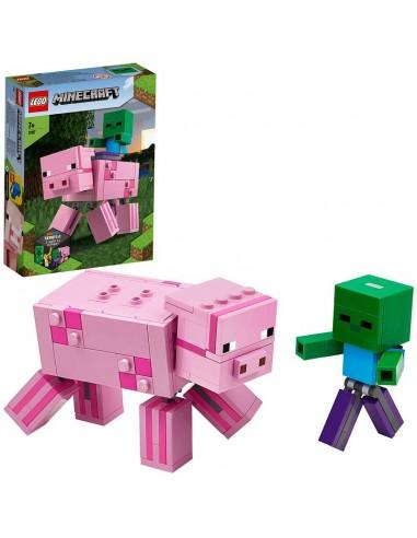 LEGO MINECRAFT MAXI-FIGURE MAIALE E...