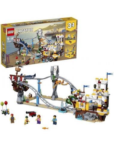 LEGO CREATOR MONTAGNE RUSSE DEI PIRATI
