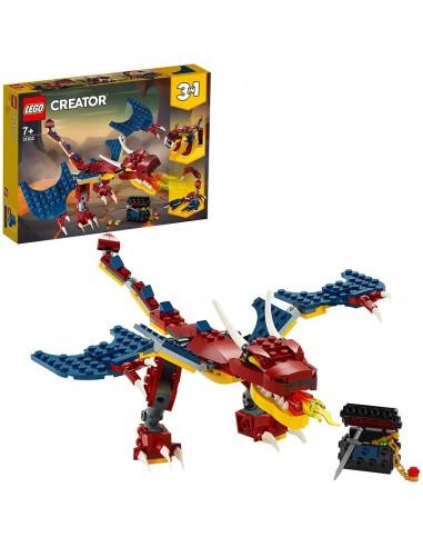 LEGO CREATOR DRAGO DEL FUOCO