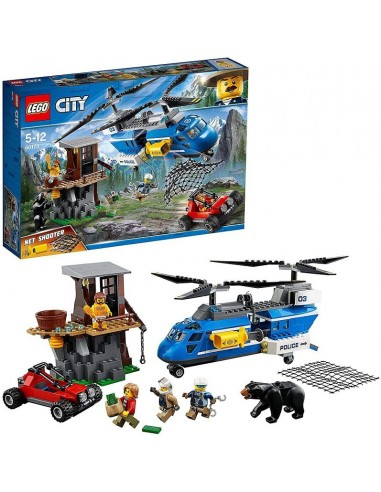 LEGO CITY ARRESTO IN MONTAGNA
