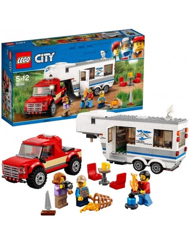 LEGO CITY PICK UP E CAMPER