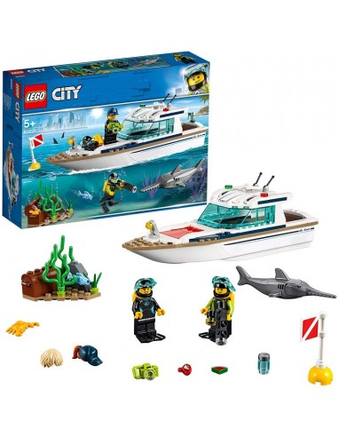 LEGO CITY YACHT PER IMMERSIONI
