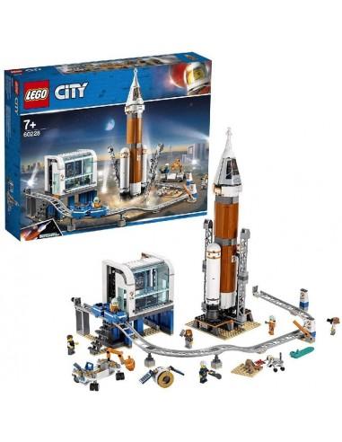 LEGO CITY RAZZO SPAZIALE A CENTRO DI...
