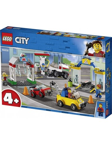LEGO CITY STAZIONE DI SERVIZIO E...