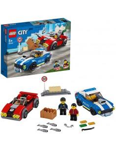 LEGO CITY ARRESTO SU STRADA...
