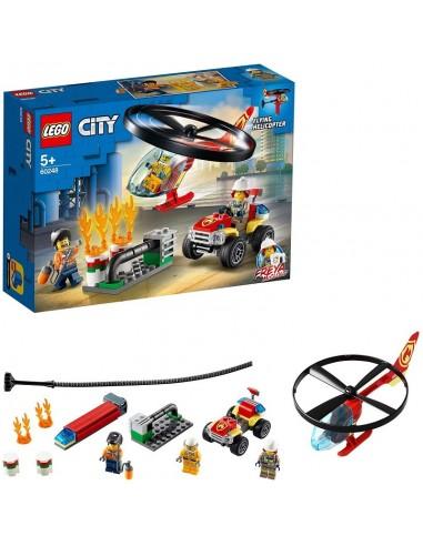LEGO CITY ELICOTTERO DEI POMPIERI