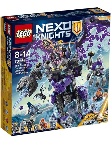 LEGO NEXO KNIGHTS COLOSSO DI PIETRA