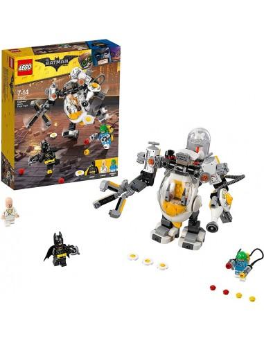 LEGO BATMAN EGGHEAD BATTAGLIA A COLPI...