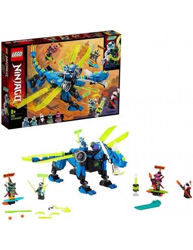 LEGO NINJAGO IL CYBER-DRAGONE DI JAY