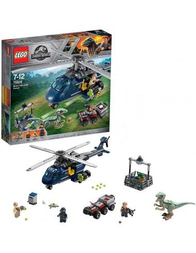 LEGO JURASSIC WORLD INSEGUIMENTO...