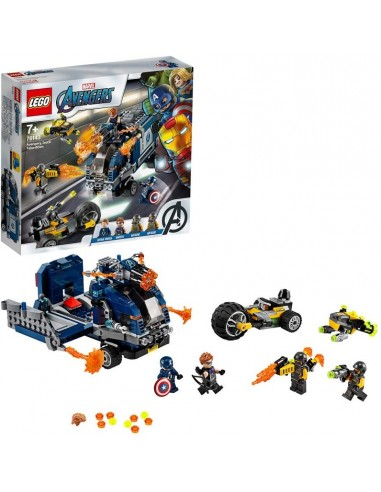 LEGO AVENGERS- ATTACCO DEL CAMION