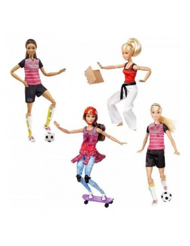 MATTEL BARBIE SPORT ASSORTITE