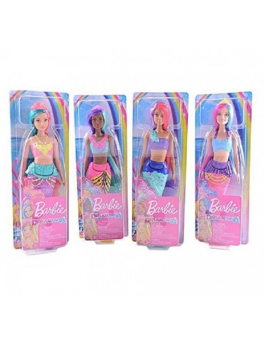 BARBIE DREAMTOPIA SIRENA 3 ASSORTITE