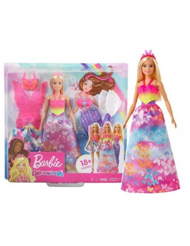 BARBIE DREAMTOPIA DRESS UP SIRENA-FATINA