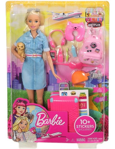 BARBIE TRAVEL ASSORTITE