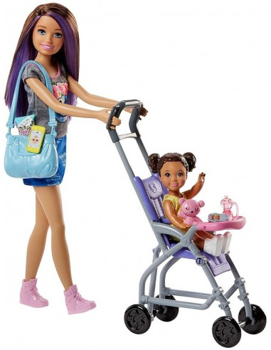 BARBIE SKIPPER BABYSITTER...