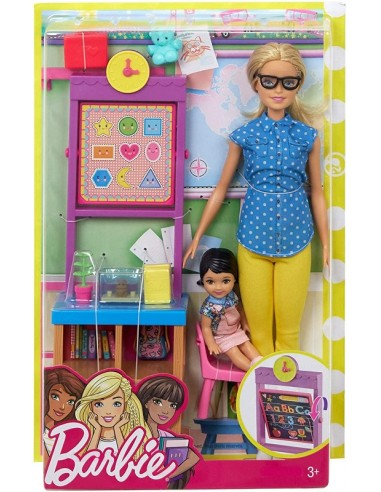 BARBIE CARRIERE PLAYSET ASSORTITE...