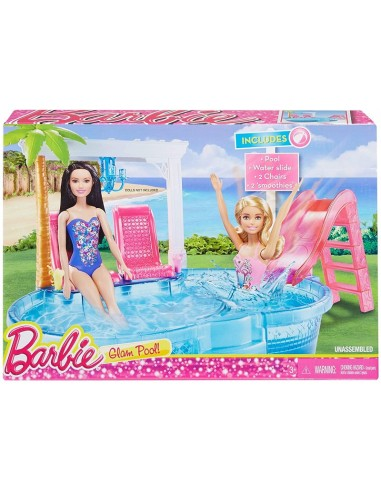 MATTEL BARBIE PISCINA GLAM