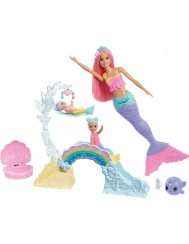 BARBIE DREAMTOPIA SIRENA PLAYSET