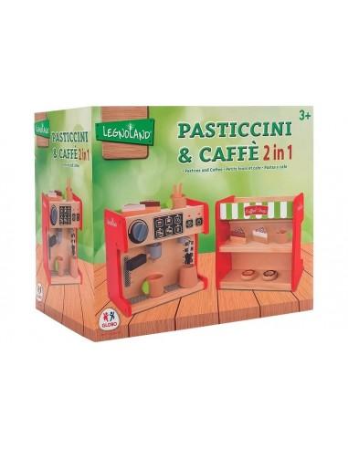GLOBO MACCHINA DEL CAFFE'+BANCO DOLCI...