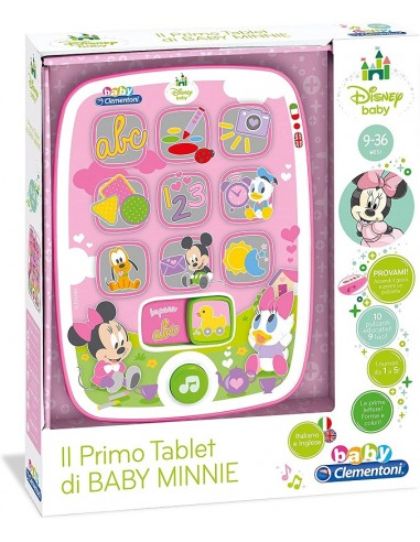 BABY CLEMENTONI MINNIE TABLET