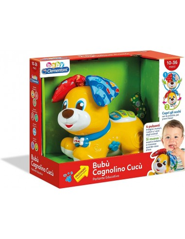 BABY CLEMENTONI BUBU' CAGNOLINO CUCU