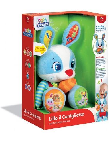 BABY CLEMENTONI LILLO IL CONIGLIETTO