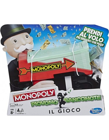 HASBRO GIOCO MONOPOLY PIOVONO BANCONOTE