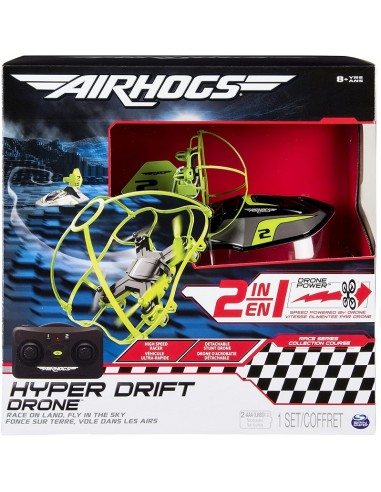 AIR HOGS R/C DRONE HOVERCRAFT 2IN1