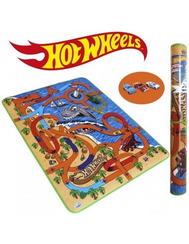 HOT WHEELS TAPPETONE 120X180 CON 1 AUTO
