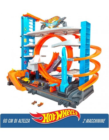 HOT WHEELS PISTA GARAGE DELLE ACROBAZIE