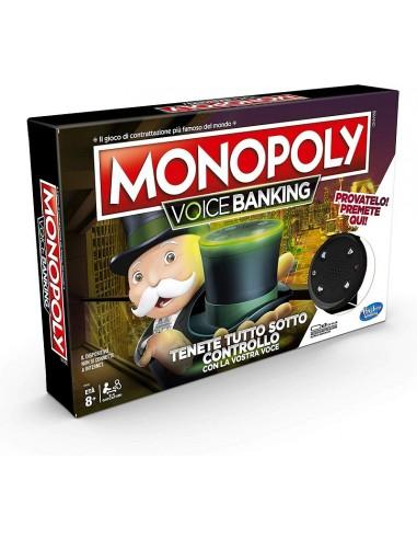 HASBRO GIOCO MONOPOLY VOICE BANKING 8+