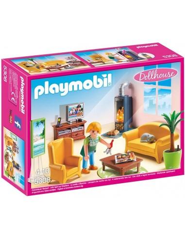 PLAYMOBIL DOLLHOUSE SOGGIORNO CON...