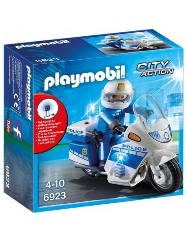 PLAYMOBIL POLIZIA MOTOCICLETTA