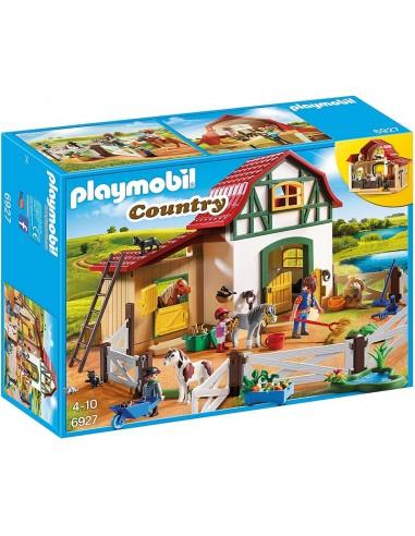 PLAYMOBIL COUNTRY MANEGGIO DEI PONY