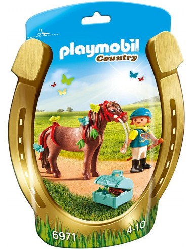 PLAYMOBIL COUNTRY PONY BUTTERFLY
