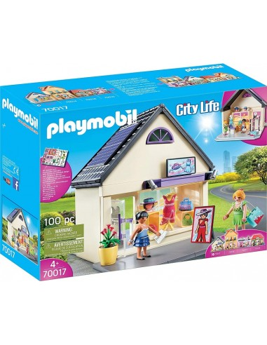 PLAYMOBIL CITY LIFE MY FASHION BOUTIQUE