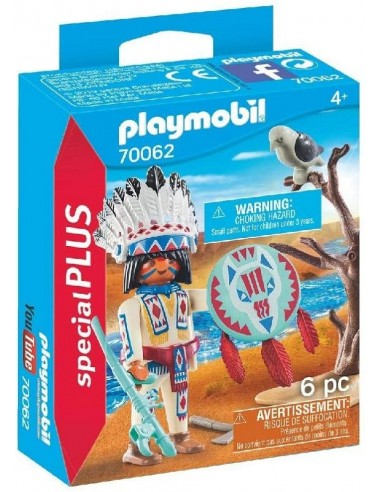PLAYMOBIL CAPO INDIANO
