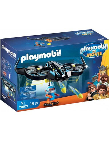 PLAYMOBIL THE MOVIE ROBOTITRON CON DRONE
