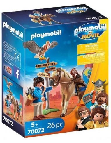 PLAYMOBIL THE MOVIE MARLA CON CAVALLO