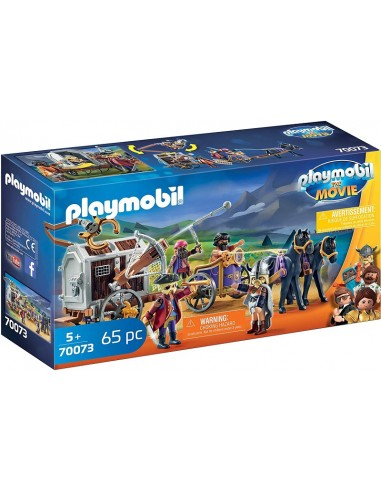 PLAYMOBIL THE MOVIE CHARLIE CON CARRO...